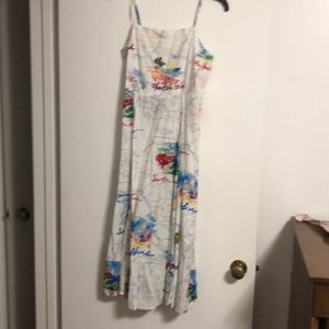 Gap map dress